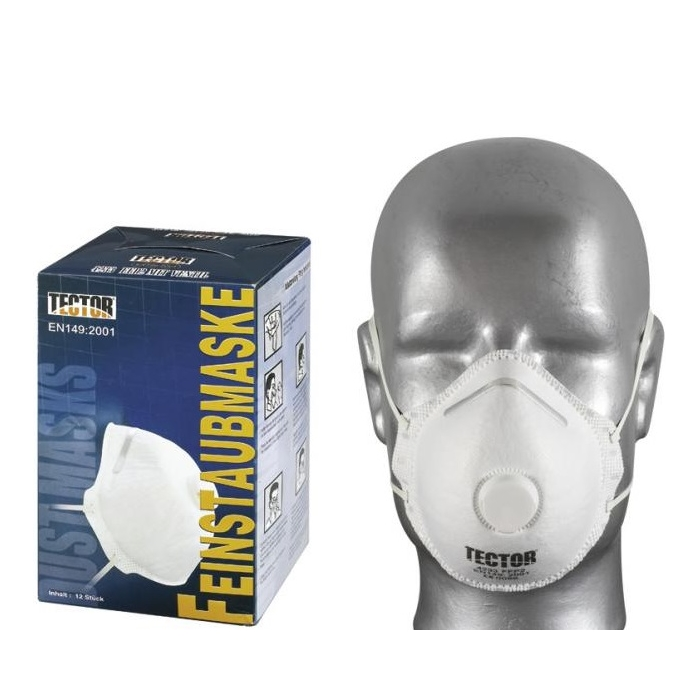 Classic fine-dustmask FFP2 with exhalation valve – 12 pcs pack